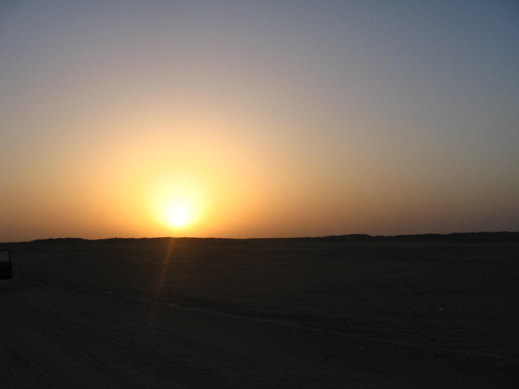 Sunrise inKuwait