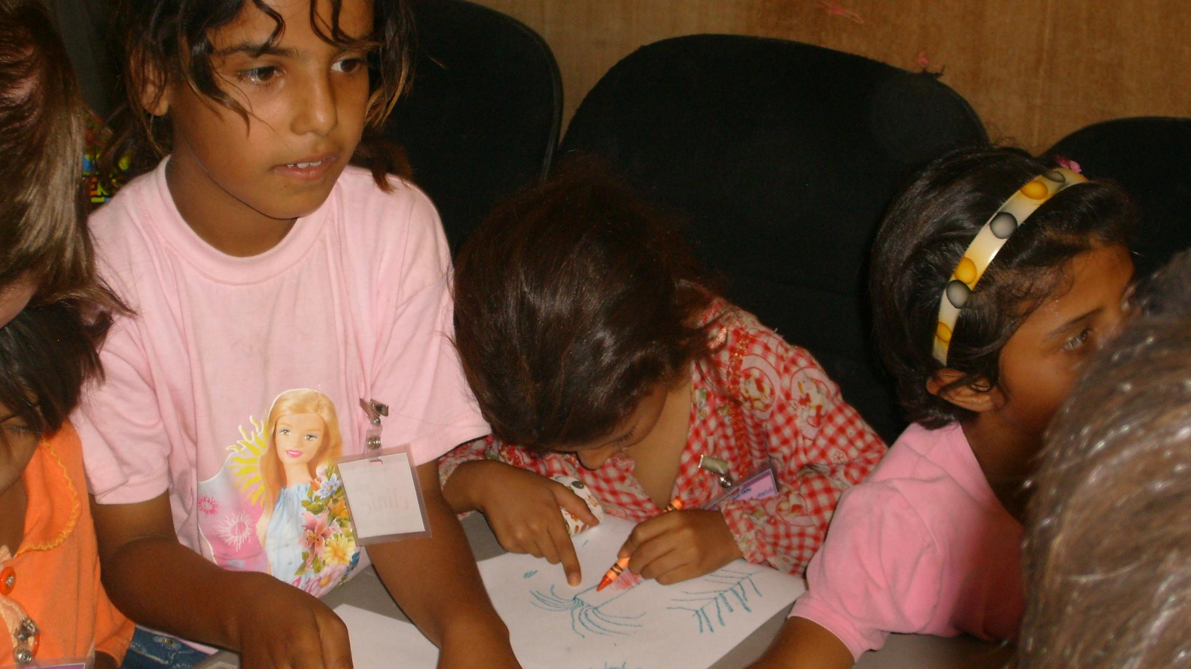 Coloring at theClinic